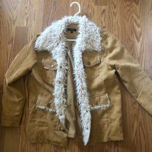 NWOT fuzzy jacket